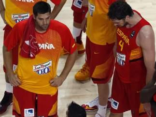 Desolación de los jugadores españoles