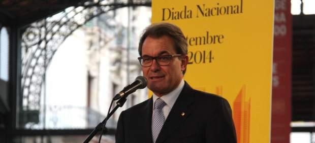 Foto de Artur Mas en la Diada (ACN)