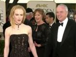 Nicole Kidman y su padre, Anthony Kidman