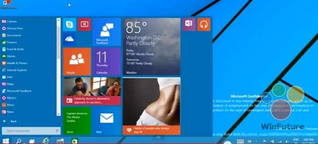 Windows 9 será gratis para los usuarios de Windows 8