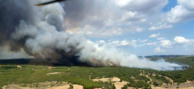 Incendio de Almansa.