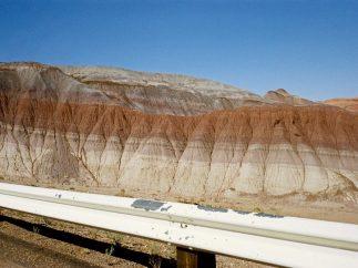 'Carretera Federal 89, Arizona, junio de 1972'. De la serie 'American Surfaces'