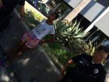 Daniele Watts, esposada por la polic�a