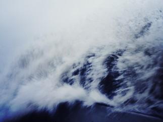 Wave Surge Crashing Over Wall - Brooklyn, New York