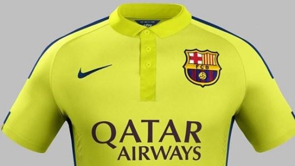 El Barça presenta su tercera equipación c77d84d15ba