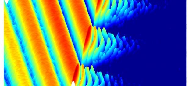 Proceso de cristalización de la luz