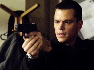 Matt Damon en el papel del agente Bourne