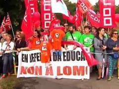 Protestas contra la LOMCE
