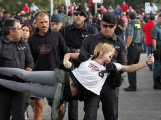 Detenidos y heridos en el Toro de la Vega