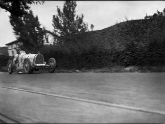 'Carrera en el circuito de Lasarte', San Sebasti�n, 1925