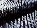 Tropa de asalto de Star Wars en formación
