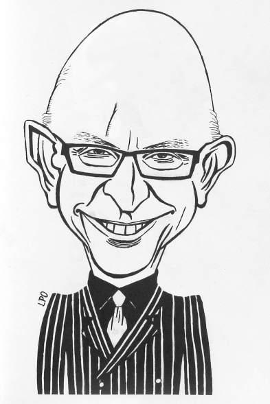 Caricatura de Cristóbal Montoro, realizada por LPO