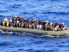 dUna bebé de nueve meses llega sola a Lampedusa