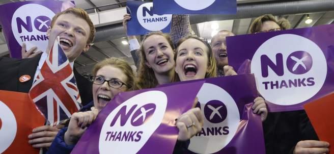 Escocia elige la uni�n
