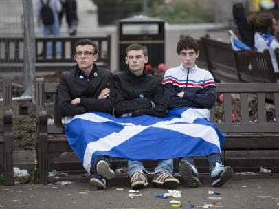 Decepci�n entre los independentistas escoceses