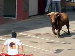 El 'toro ensogado'