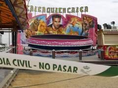 Accidente en una atracci�n en Sevilla