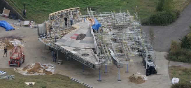 El taller secreto de 'Star Wars', al descubierto