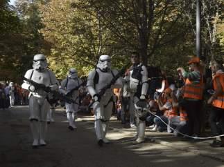 Desfile de 'La Guerra de las Galaxias'