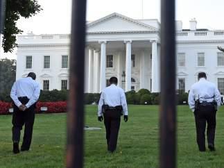 Un intruso en la Casa Blanca