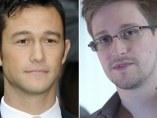 Joseph Gordon-Levitt y Edward Snowden