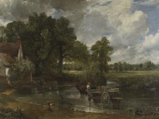 The Hay Wain,  Oil on canvas, 1821