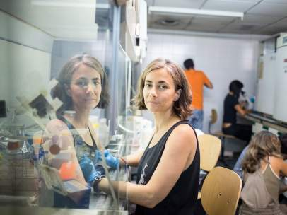 El equipo de Cristina Sánchez tiene su laboratorio en la Facultad de Biología de la Universidad Complutense de Madrid.