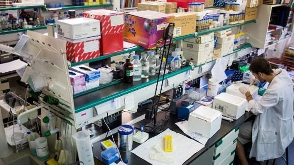 Detalle del laboratorio en la Facultad de Biología de la UCM.