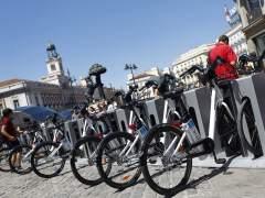 El Ayuntamiento estudia ampliar el servicio p�blico de alquiler de bicis a Valdebebas y Sanchinarro