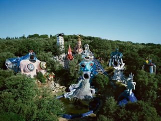 'Vue du Jardin des Tarots', Garavicchio, Italie