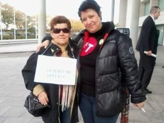 Laura de Los Santos, afectada por las preferentes, y activista contra las tasas judiciales