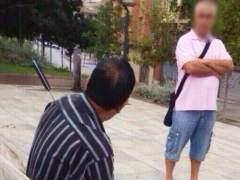 Uno de los heridos de Lleida