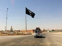 Bandera del grupo Estado Islámico