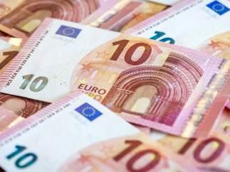 Nuevos billetes de 10 euros