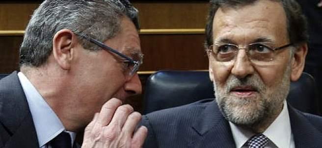 Rajoy y Gallard�n