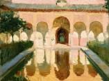 Sala de Embajadores. Alhambra. Granada, 1909