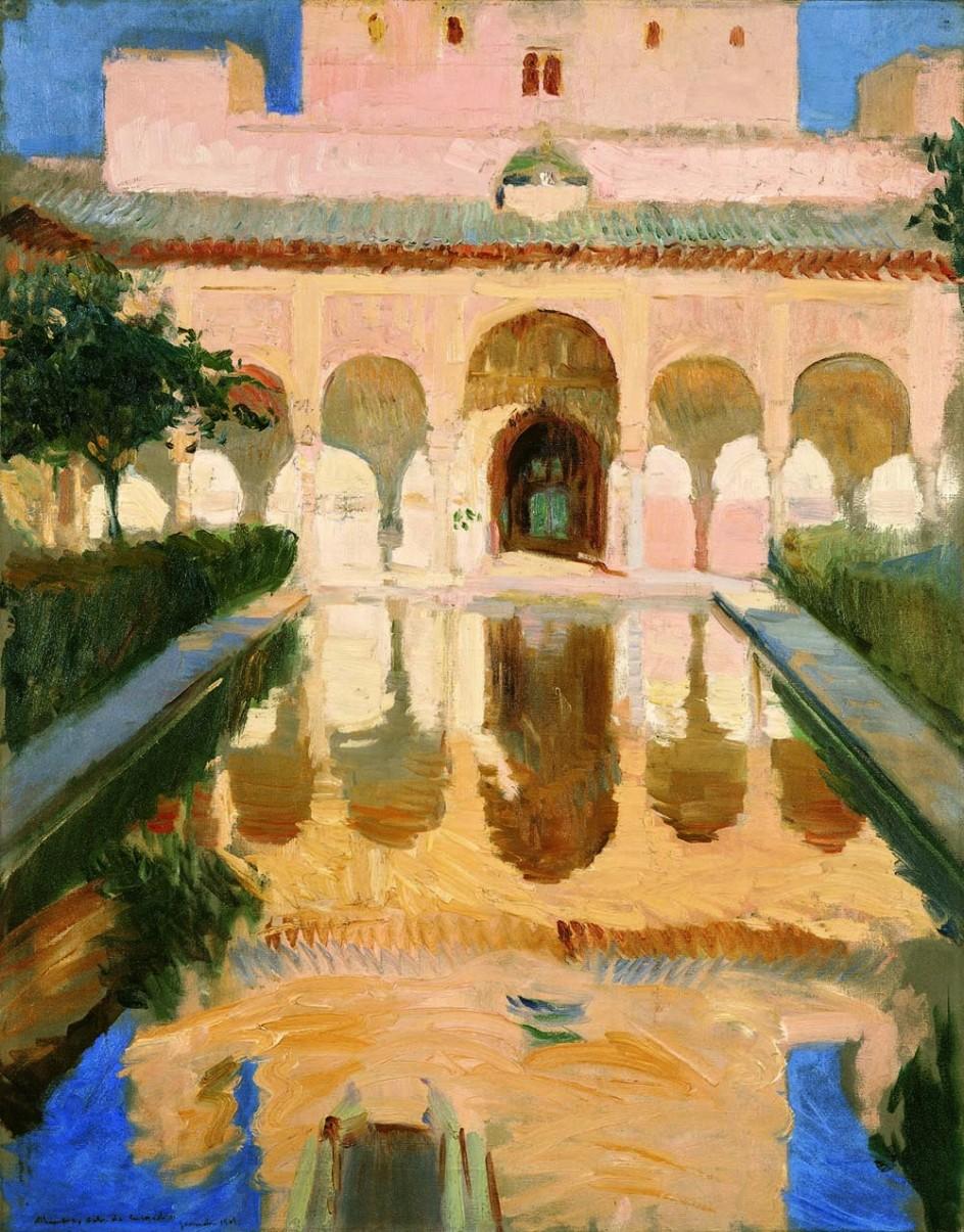Foto: Sala de Embajadores. Alhambra. Granada, 1909 | Sorolla, el ...