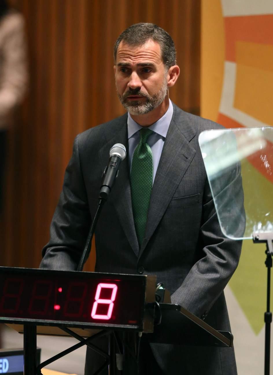 """Felipe VI, contra el cambio climático: """"Están en juego vidas"""