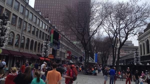 Quincy Market, el lugar con más ambiente de Boston.
