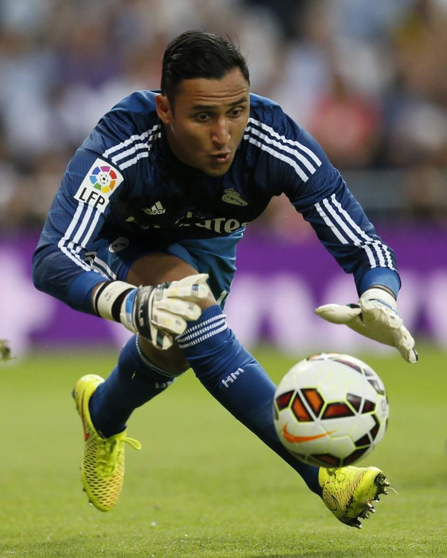 El Real Madrid se ejercita con muchas ausencias y con Keylor Navas