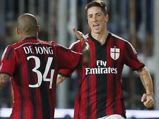 Fernando Torres se estrena con el Milan