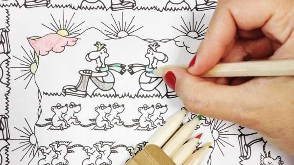 Coloreitor\': la cultura antiestrés de colorear para adultos llega a ...