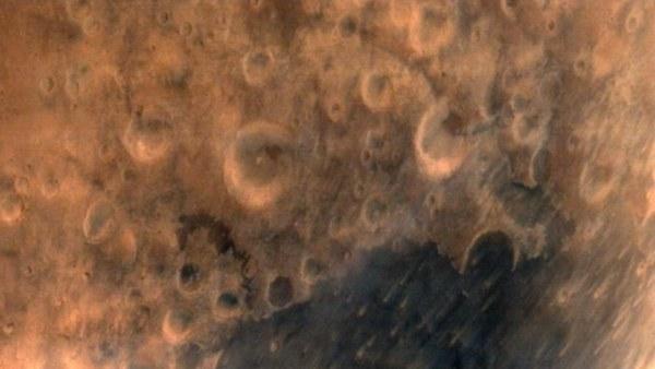 Primera imagen de Marte enviada por la sonda india Mangalyaan