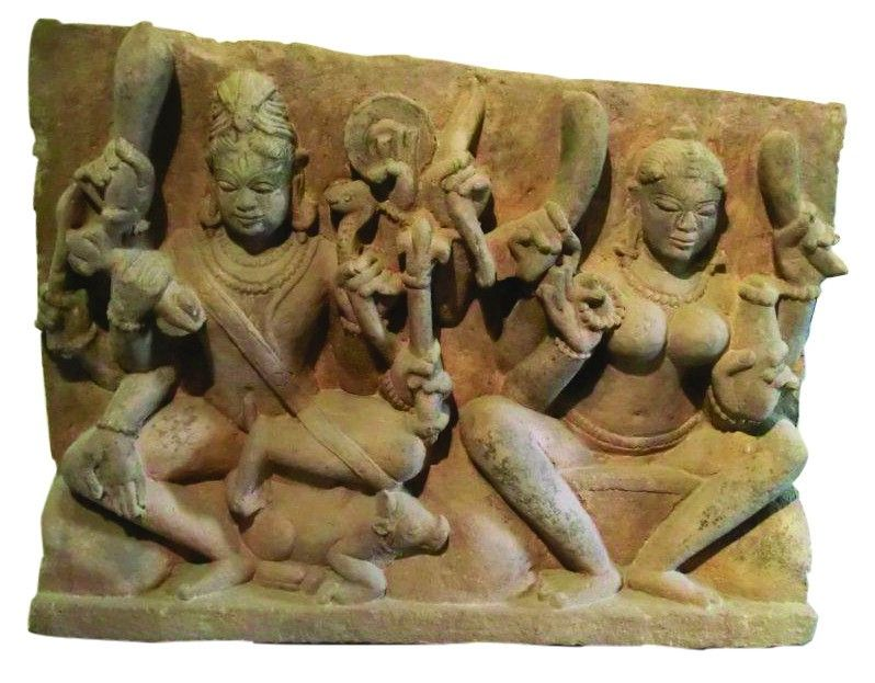 'Shiva et Parvati'. Inde centrale. XIe siècle