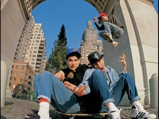 Beastie Boys, Washintong Sq. Park, New York, circa 1986