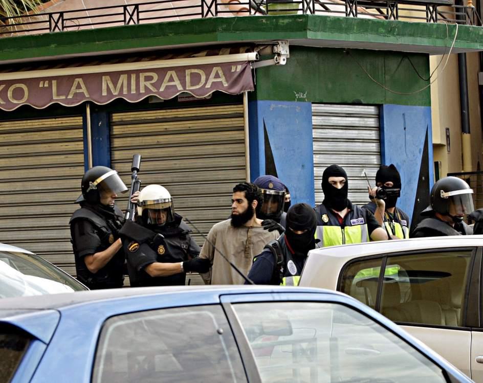 Operación antiyihadista en Melilla y Marruecos