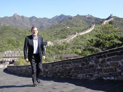 Rajoy, en China