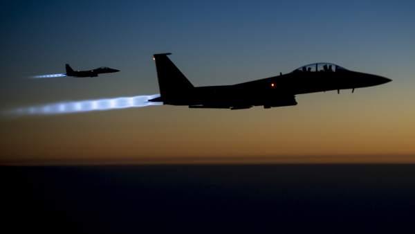 Aviones que atacan a Estado Islámico
