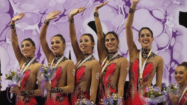 Equipo español de gimnasia rítmica