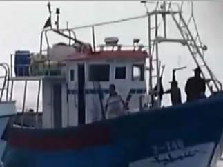 Agresi�n de pescadores marroqu�es